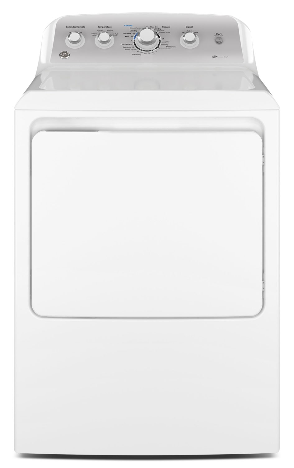 Washers and Dryers - GE 7.2 Cu. Ft. Electric Dryer – GTD45EAMJWS