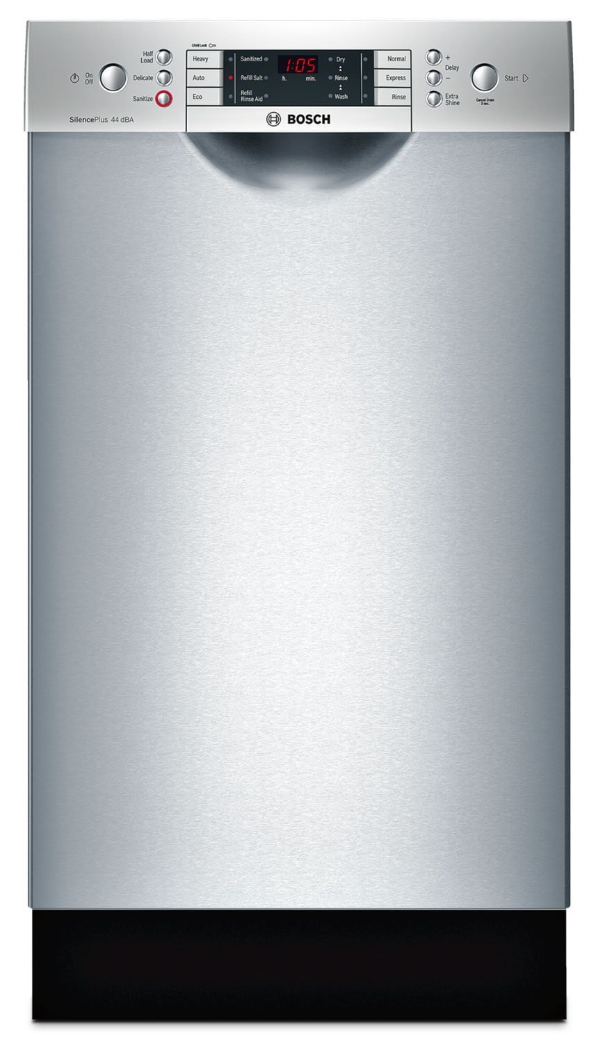 "Clean-Up - Bosch Stainless Steel 18"" Dishwasher - SPE68U55UC"