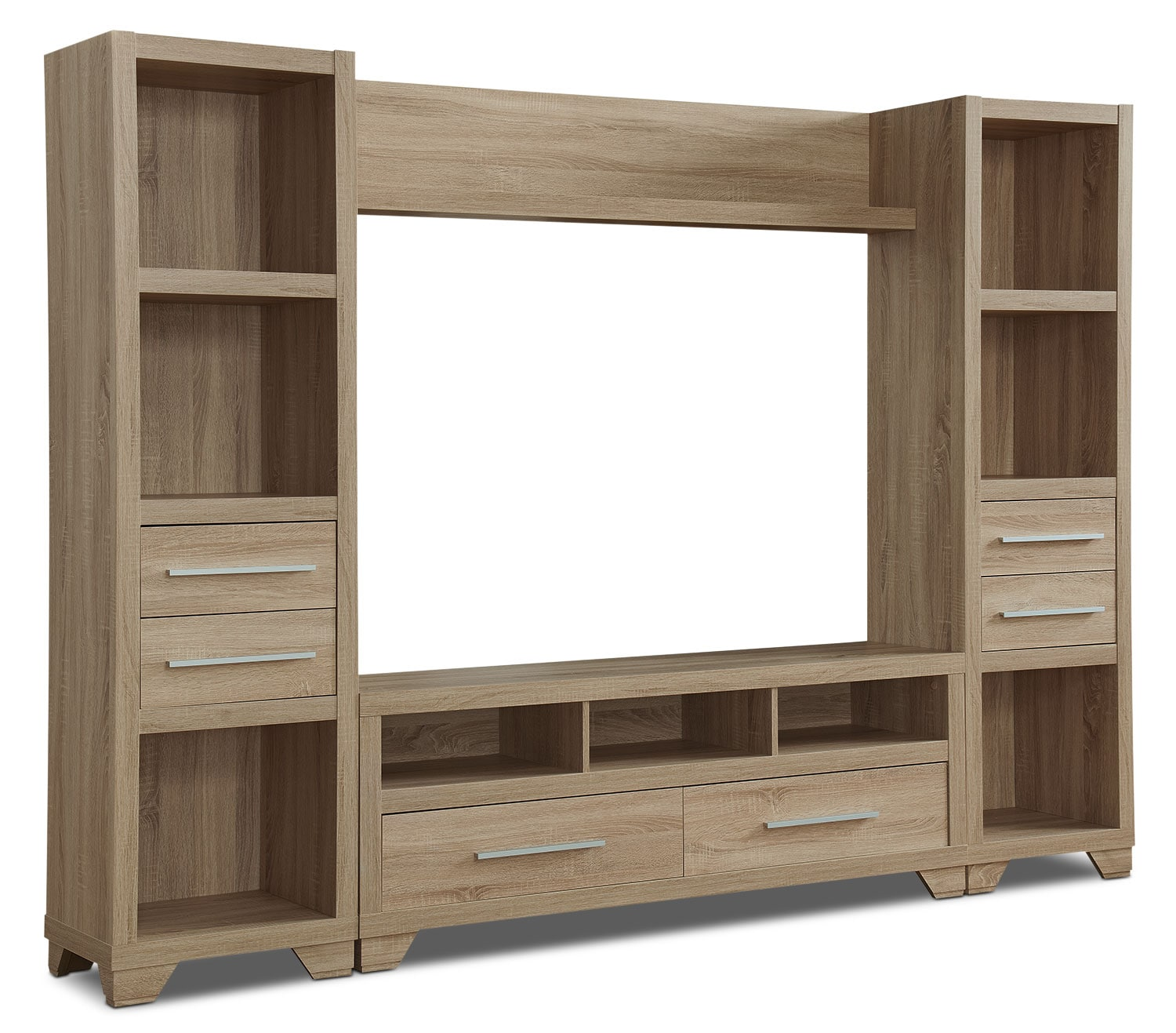 """Glendale 4-Piece Entertainment Centre With 60"""" TV Opening"""