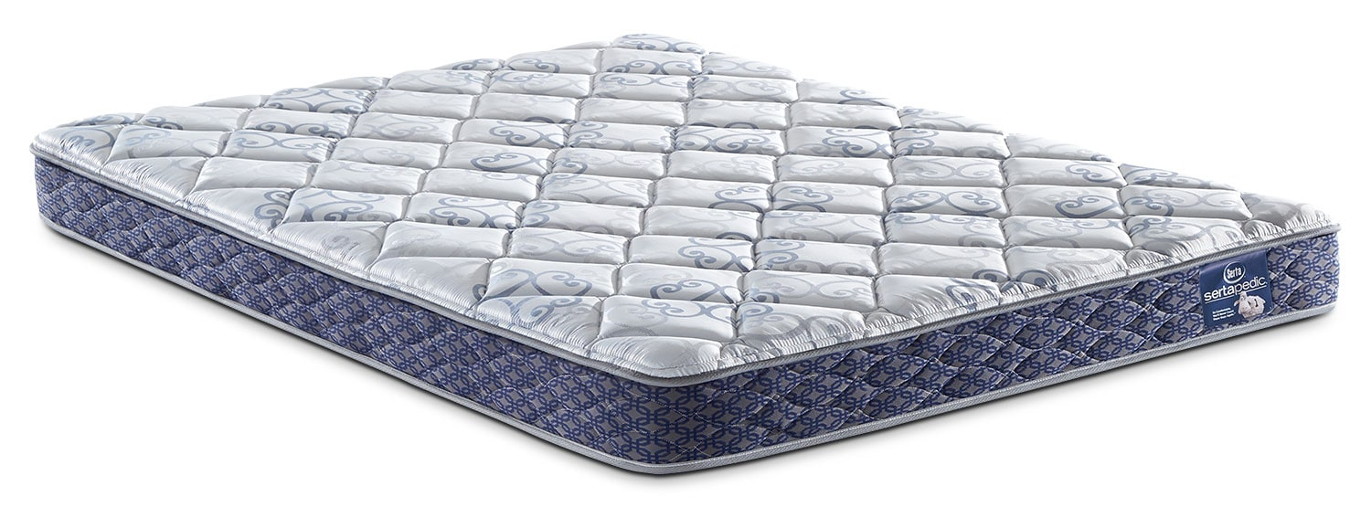 Mattresses and Bedding - Sertapedic® Gingham Tight-Top Twin Mattress