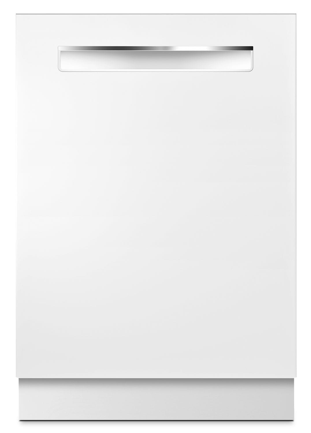 "Bosch 500 Series 24"" Flush-Handle Under-Counter Dishwasher – White"
