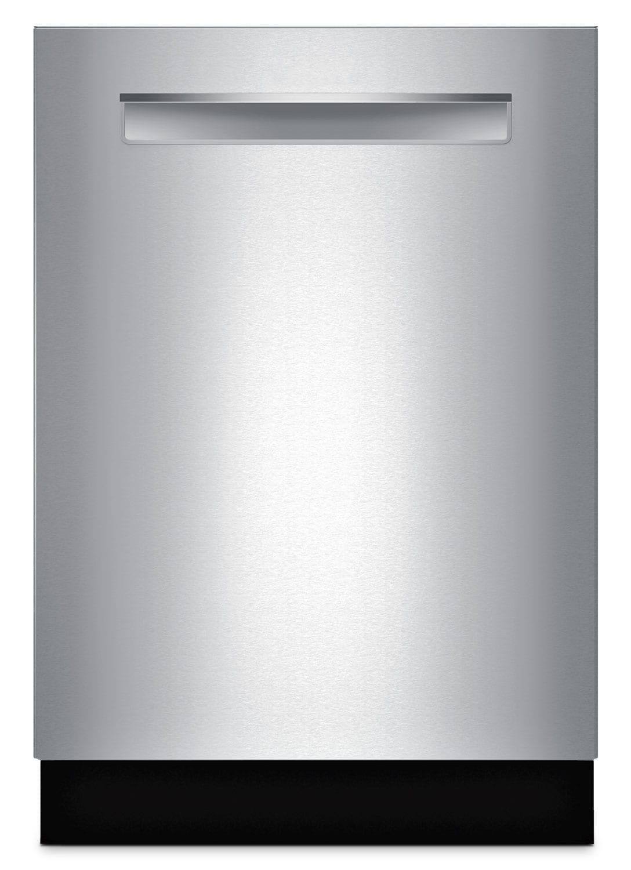 "Bosch 500 Series 24"" Flush Handle Dishwasher - Stainless Steel"