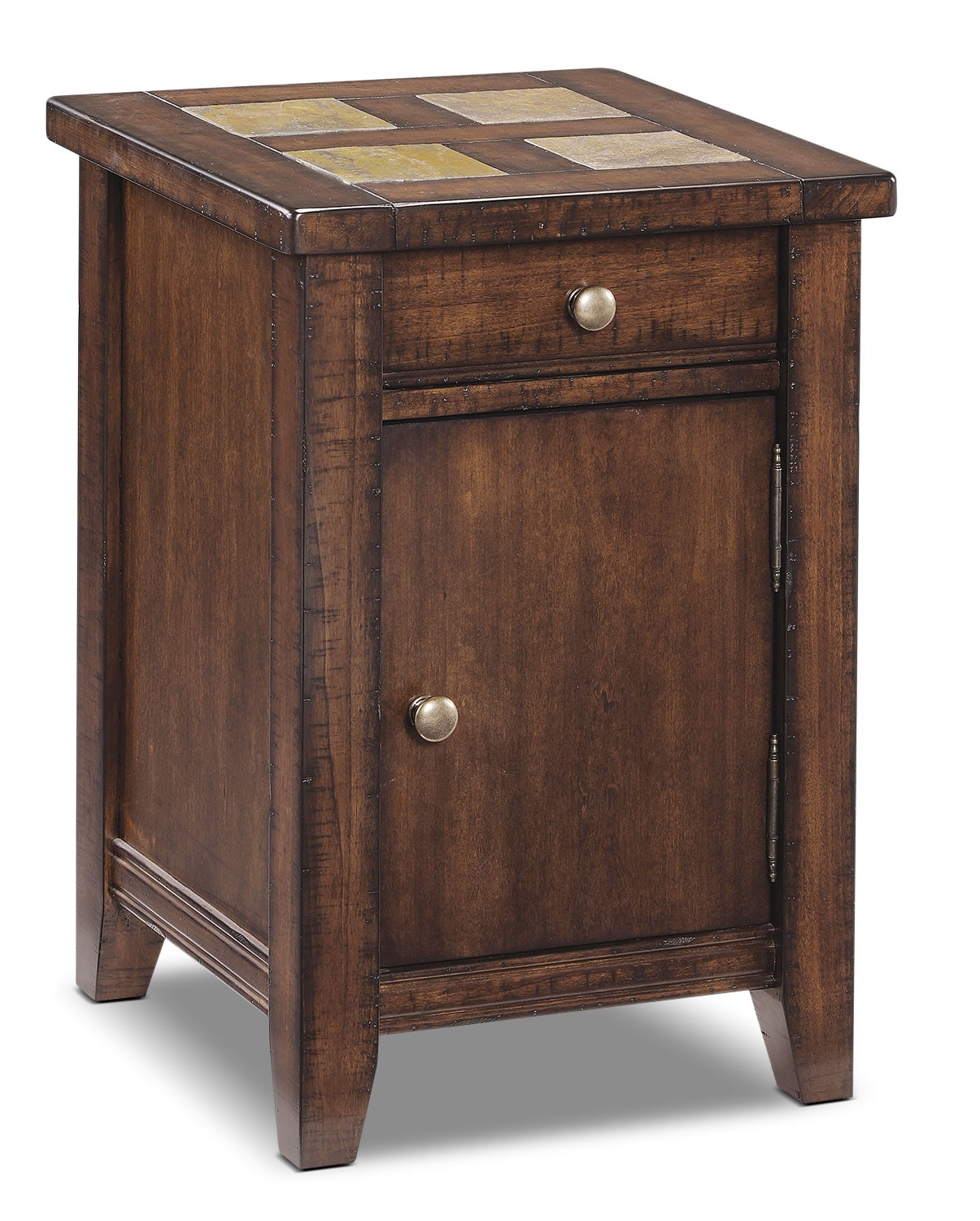 Online Only - Allister Accent Table - Cinnamon