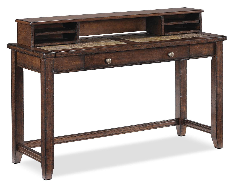 en ligne seulement allister table console bureau cannelle meubles l on. Black Bedroom Furniture Sets. Home Design Ideas