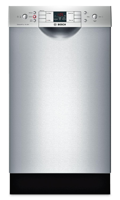 "Bosch Stainless Steel 18"" Dishwasher - SPE53U55UC"