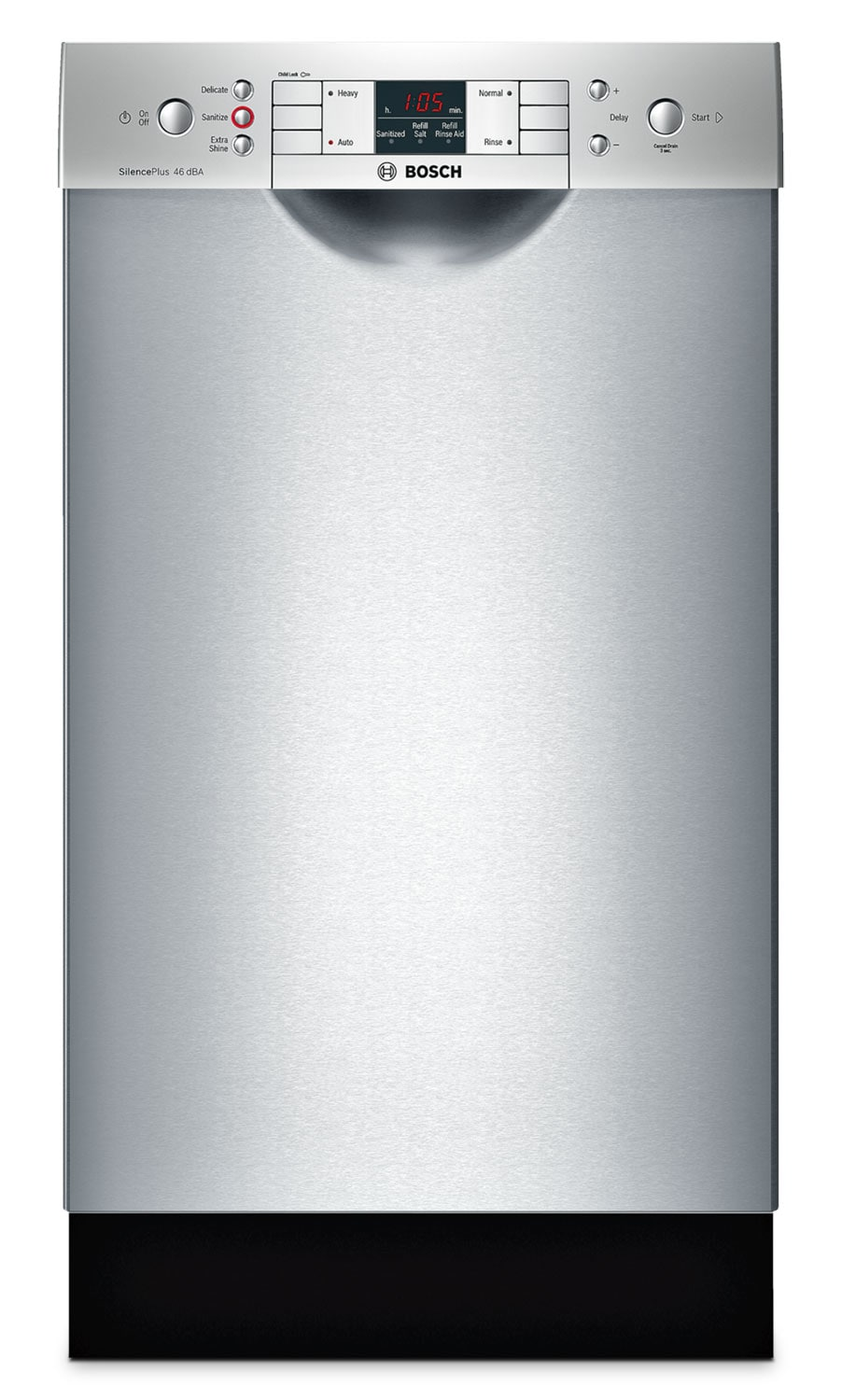 "Clean-Up - Bosch Stainless Steel 18"" Dishwasher - SPE53U55UC"