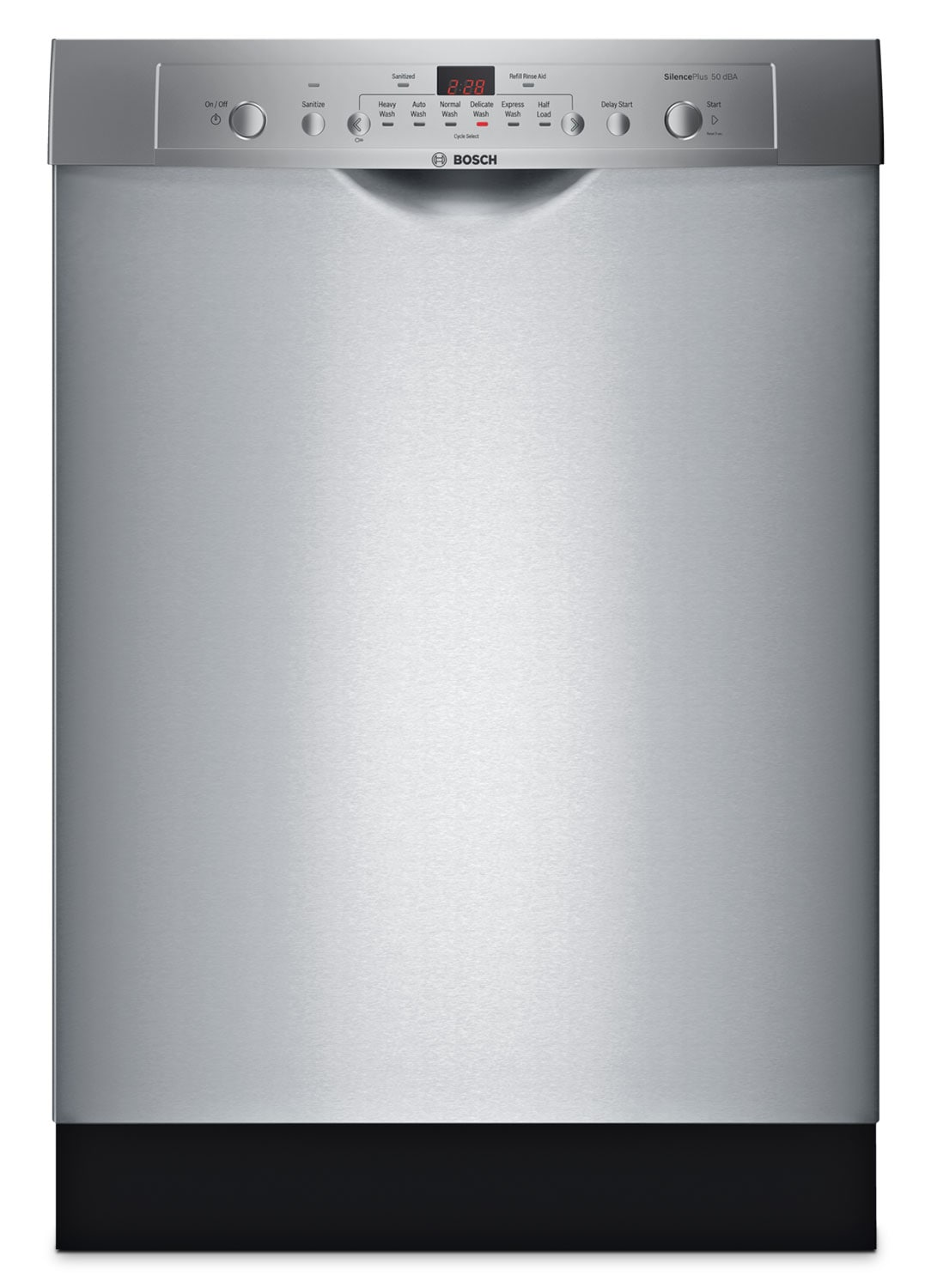 "Clean-Up - Bosch Stainless Steel 24"" Dishwasher - SHE3AR75UC"