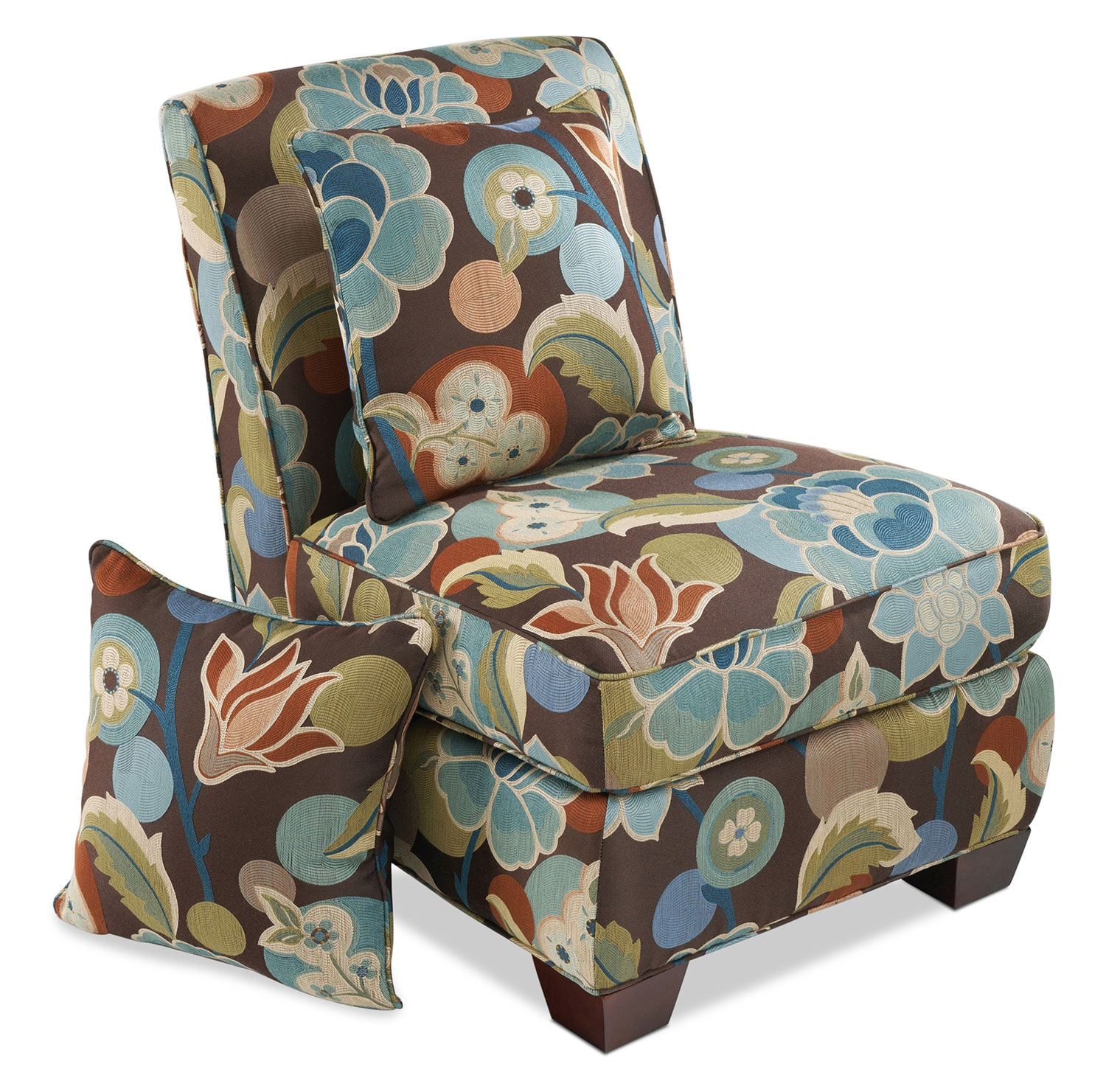 Camellia Accent Chair - Floral