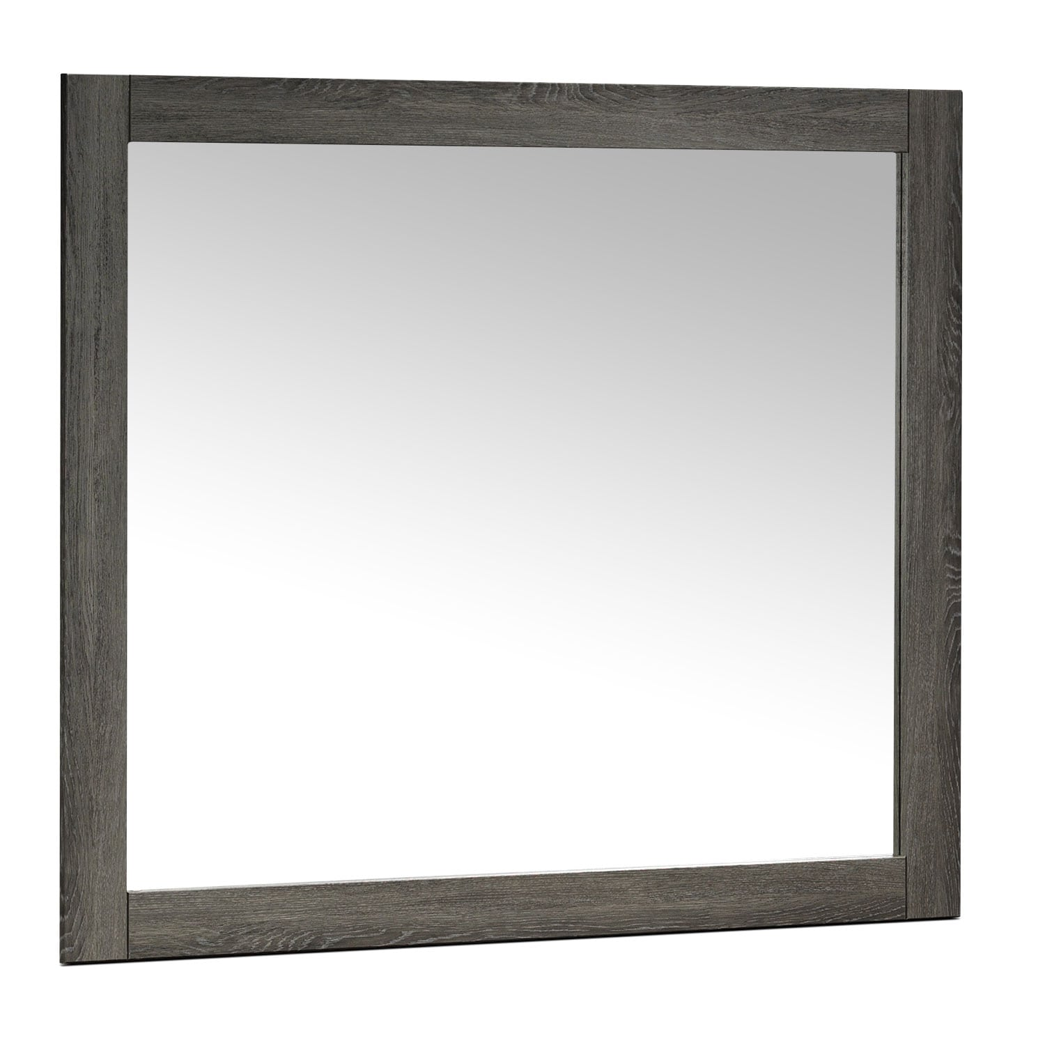 Bedroom Furniture - Driftwood Mirror - Rustic Brown