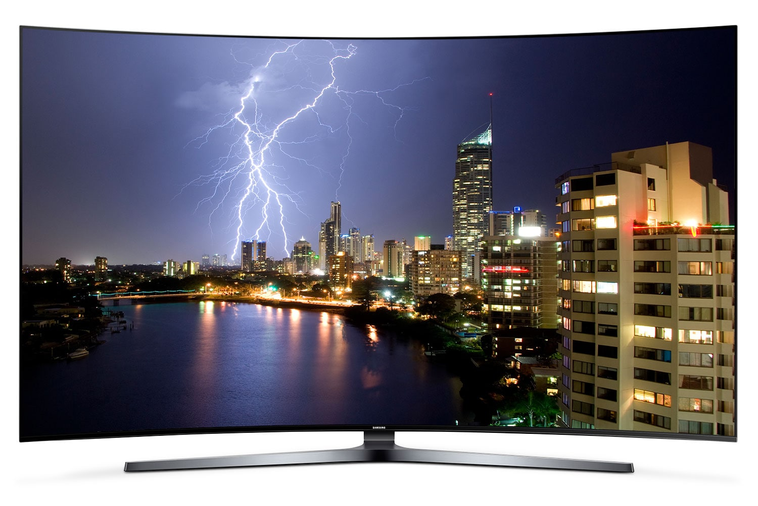 """Televisions - Samsung 65"""" KS9800 Series 4K SUHD Curved Television"""
