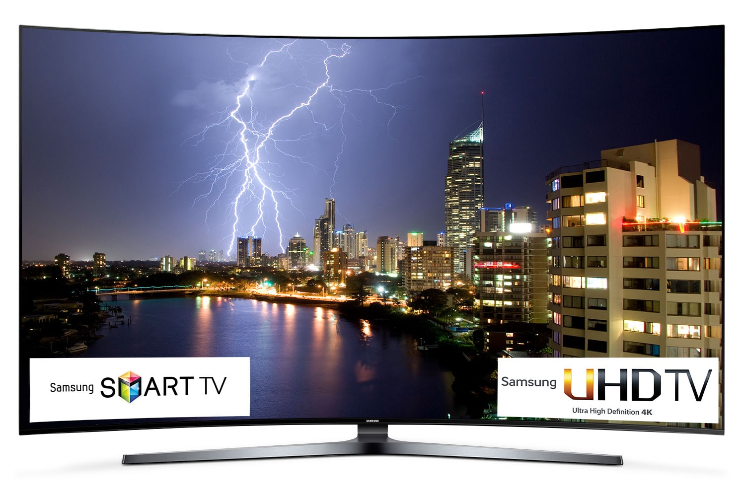 "Televisions - Samsung 65"" 4K Curved SUHD Smart LED TV - UN65KS9800FXZC"