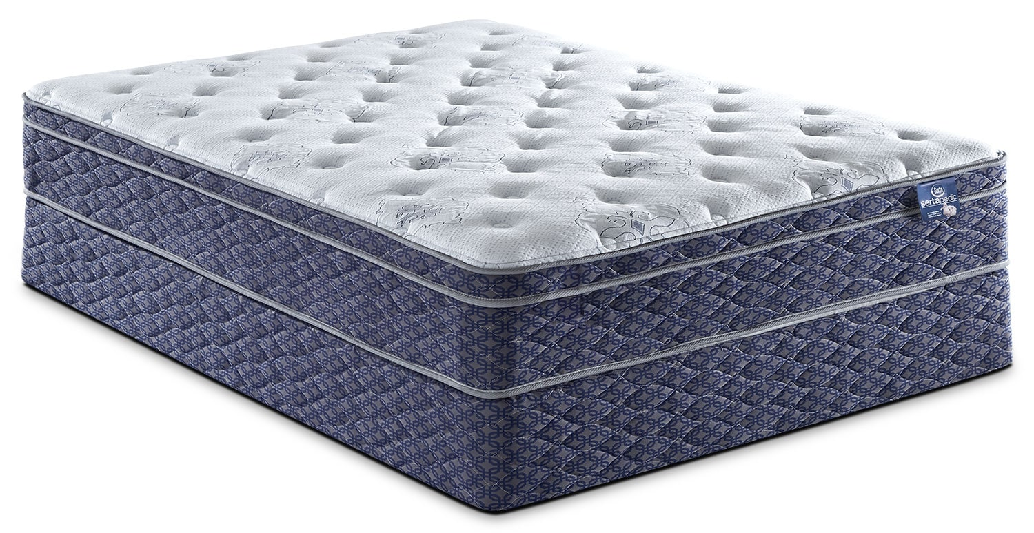 Sertapedic® Endorsement Euro-Top Full Mattress Set