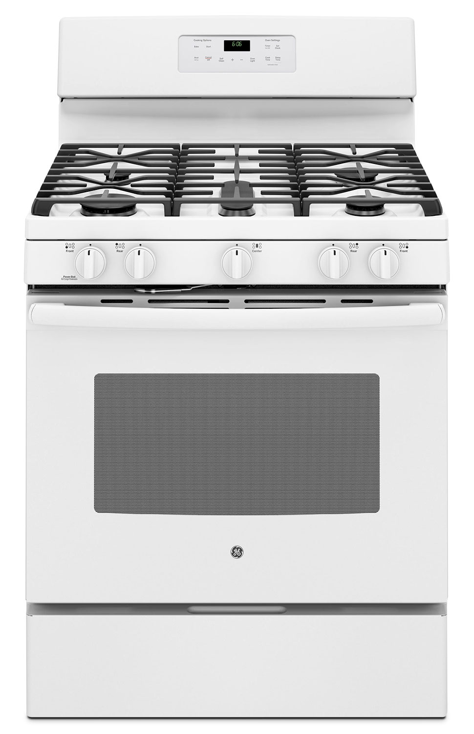 Cooking Products - GE 5.0 Cu. Ft. Freestanding Gas Range – JCGB660DEJWW