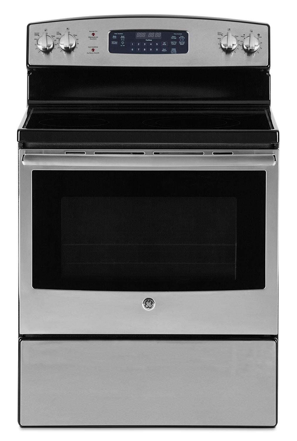Cooking Products - GE 5.0 Cu. Ft. Freestanding Electric Range – JCB730SJSS