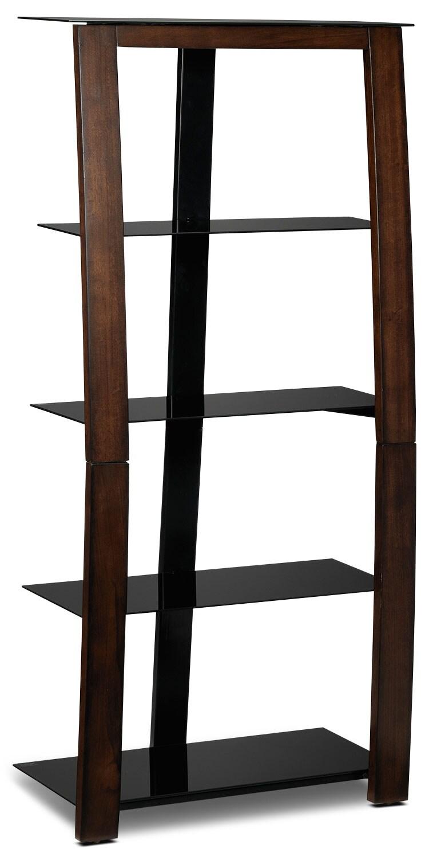 Zeta Bookcase - Mahogany