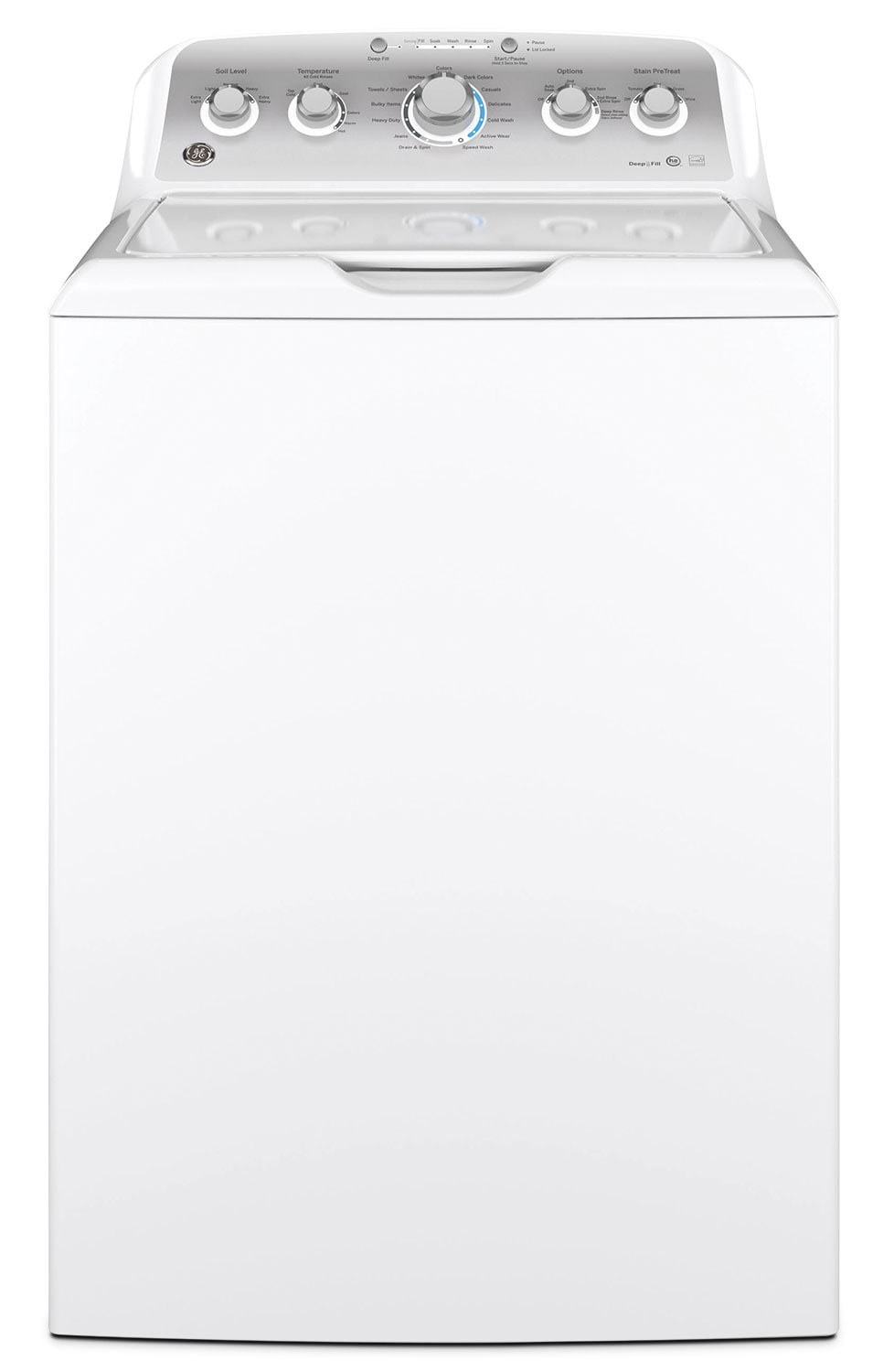 GE 4.9 Cu.Ft. Top-Load Washer – GTW485ASJWS