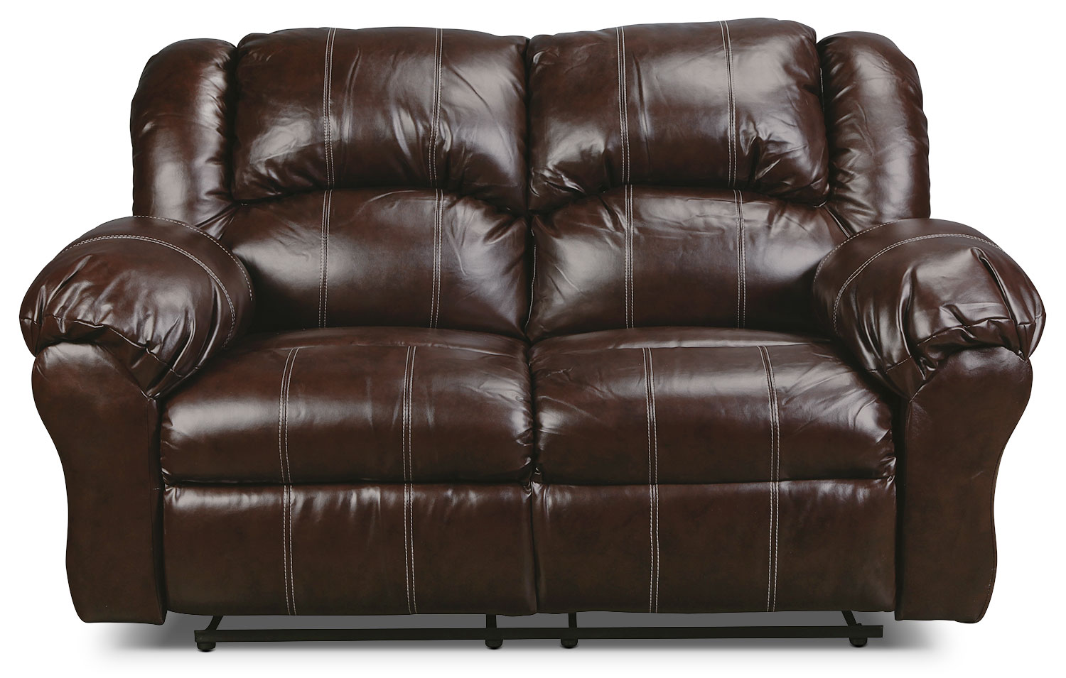 Decker Reclining Loveseat - Brown