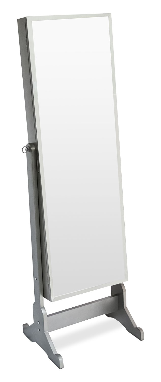 Accent and Occasional Furniture - Online Only - Diana Jewelry Mirror Cabinet