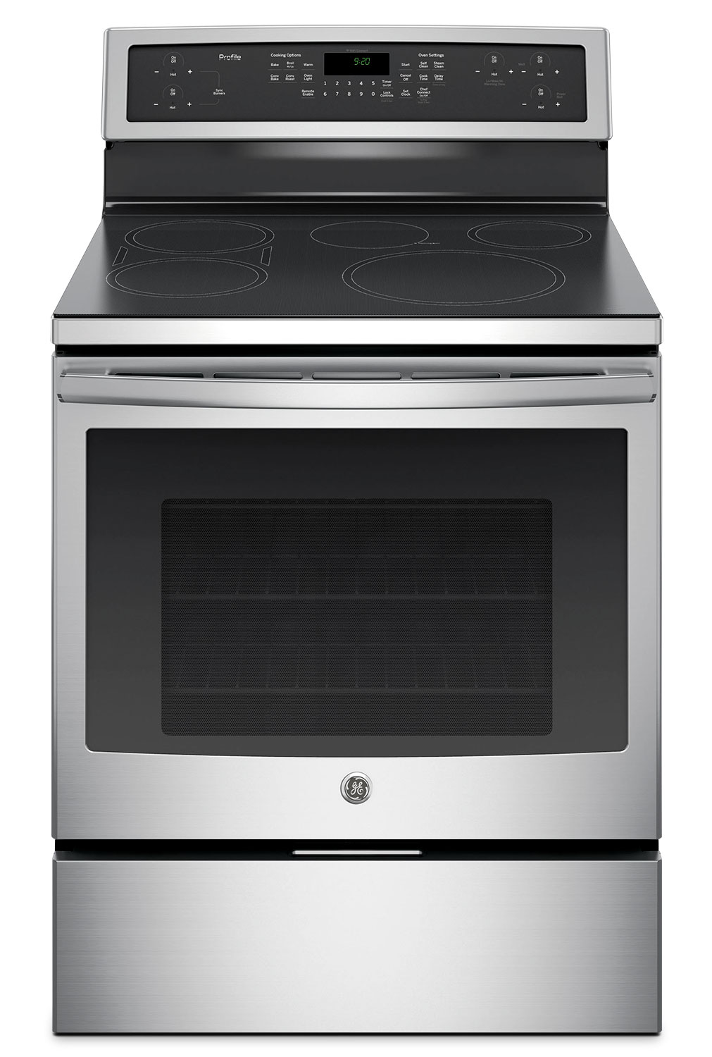 Cooking Products - GE 5.3 Cu. Ft. Freestanding Electric Range – PCHB920SJSS