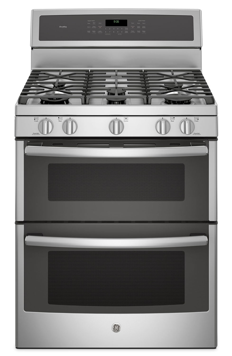 Cooking Products - GE 6.8 Cu. Ft. Freestanding Double Oven Gas Range – PCGB980ZEJSS