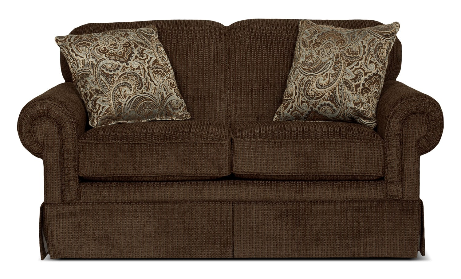 Living Room Furniture - Beacon Gliding Reclining Loveseat - Cocoa