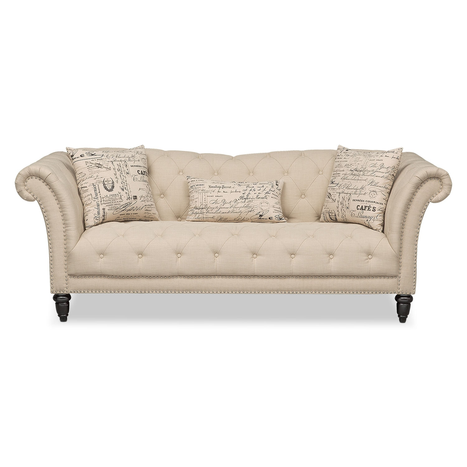 Marisol Sofa Beige Value City Furniture