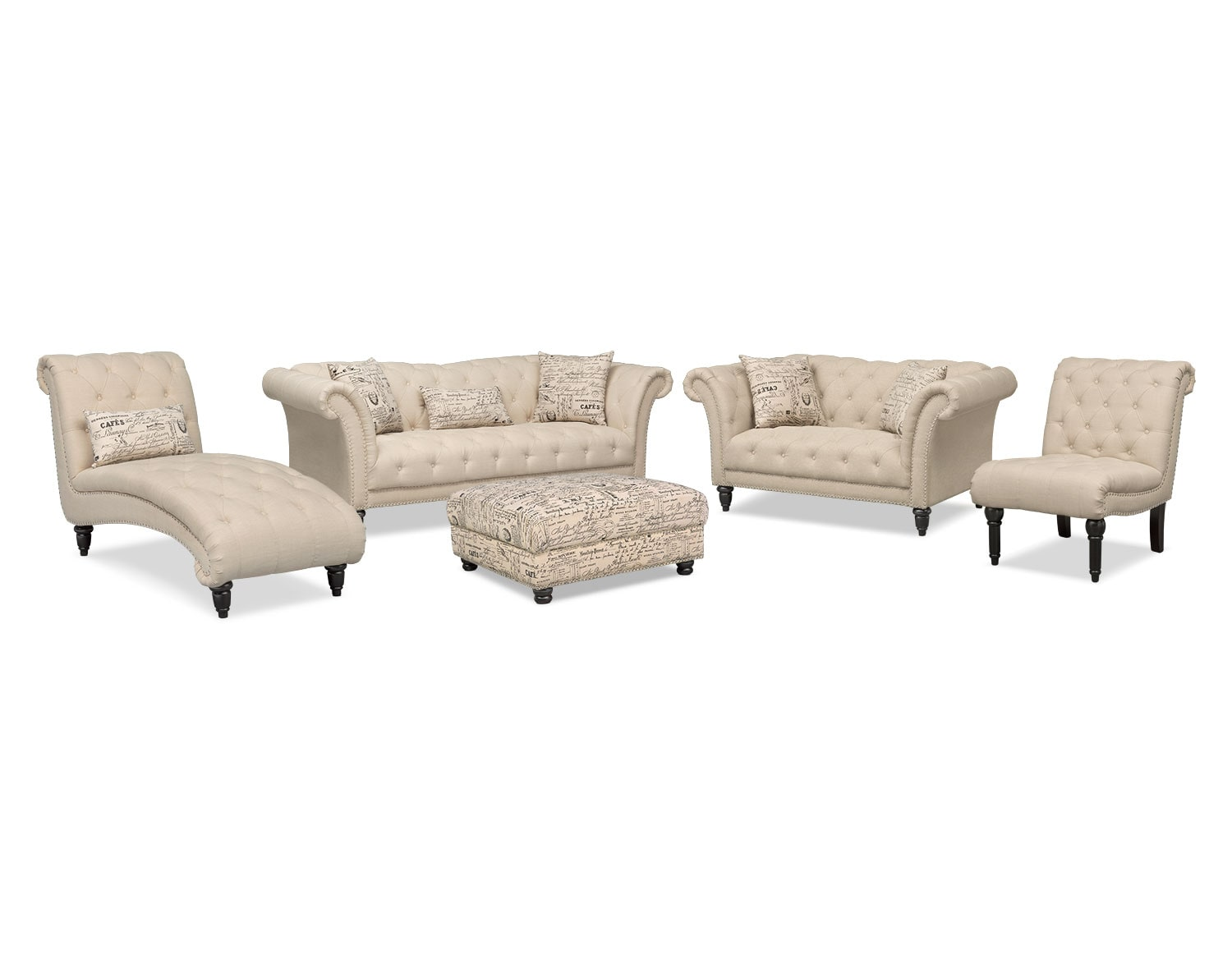 Living room furniture best sellers value city furniture for Best value living room furniture