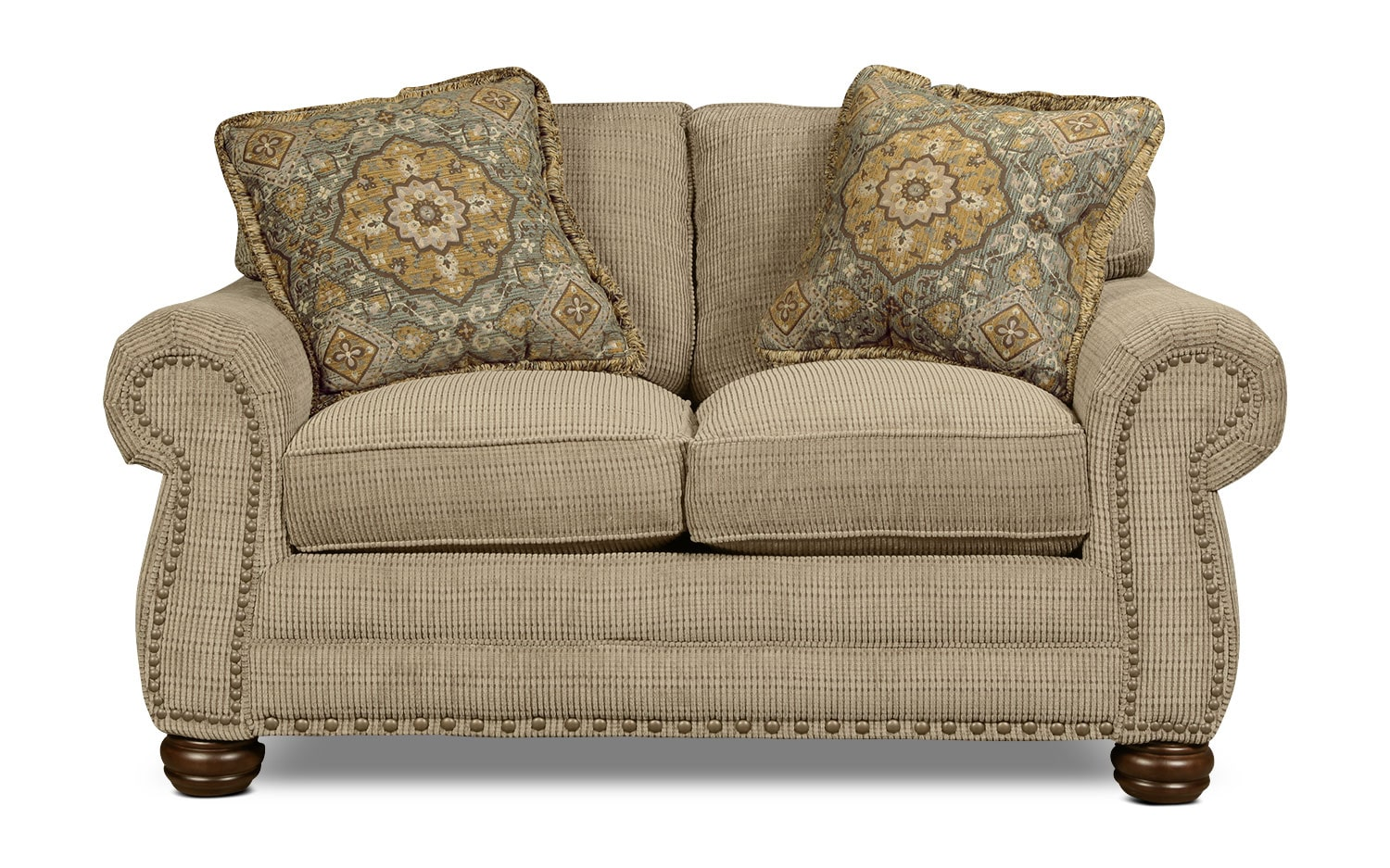 York Loveseat - Sage