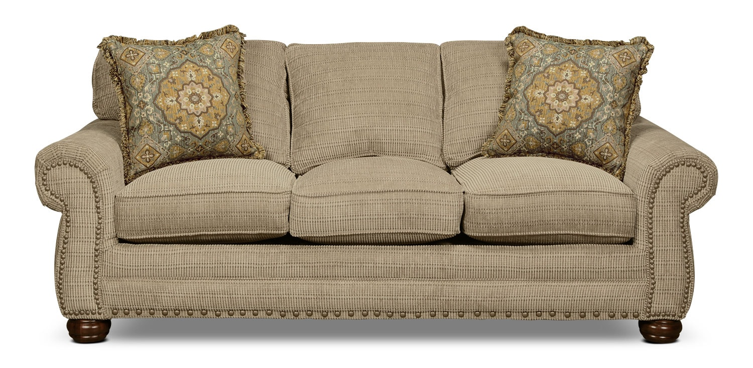 York Queen Sleeper Sofa - Sage