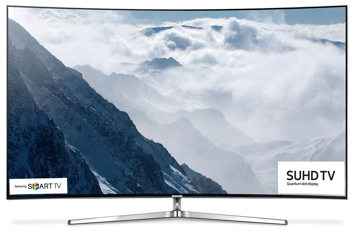 "Televisions - Samsung 55"" Curved 4K SUHD Smart LED TV- UN55KS9500FXZC"