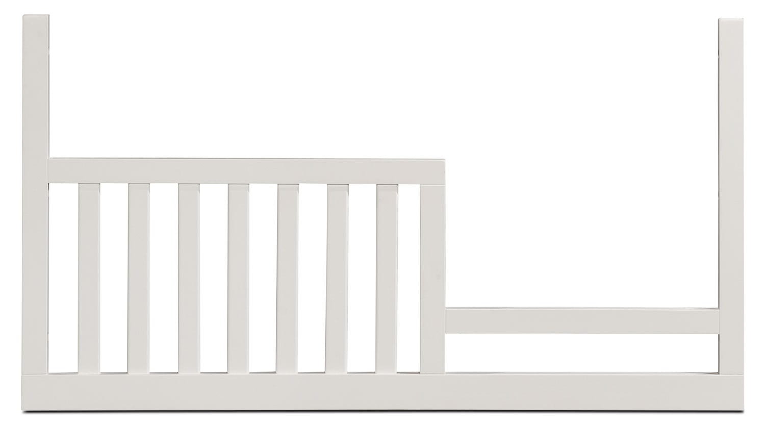 Morgan Toddler Rail - White