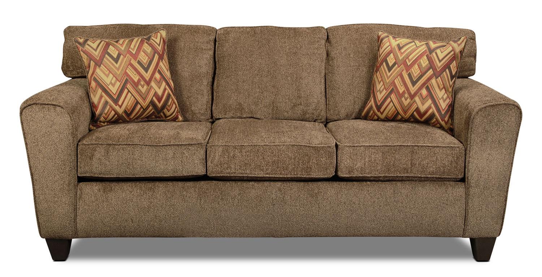 Cooper Sofa Cocoa Levin Furniture