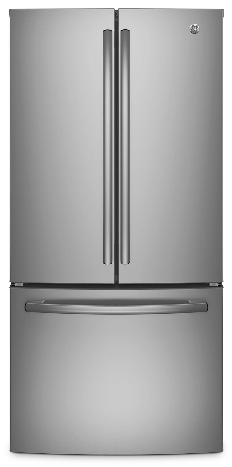 Refrigerators and Freezers - GE 24.8 Cu. Ft. French-Door Refrigerator – GNE25DSKSS