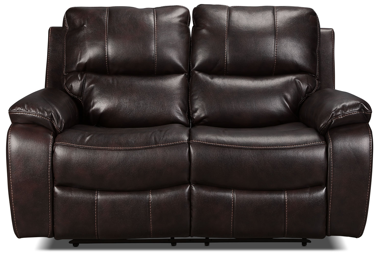 Kimberlee Power Reclining Loveseat Dark Brown Levin Furniture