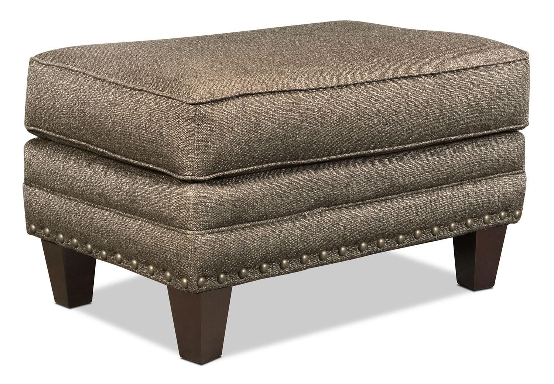 Living Room Furniture - Ashworth Ottoman - Cypress