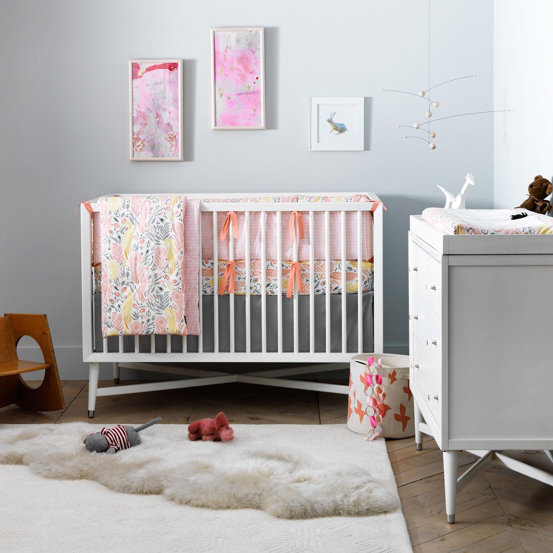 Finley Convertible Crib White Leon S