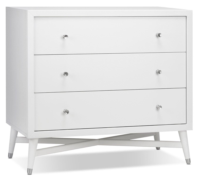 Finley Dresser - White