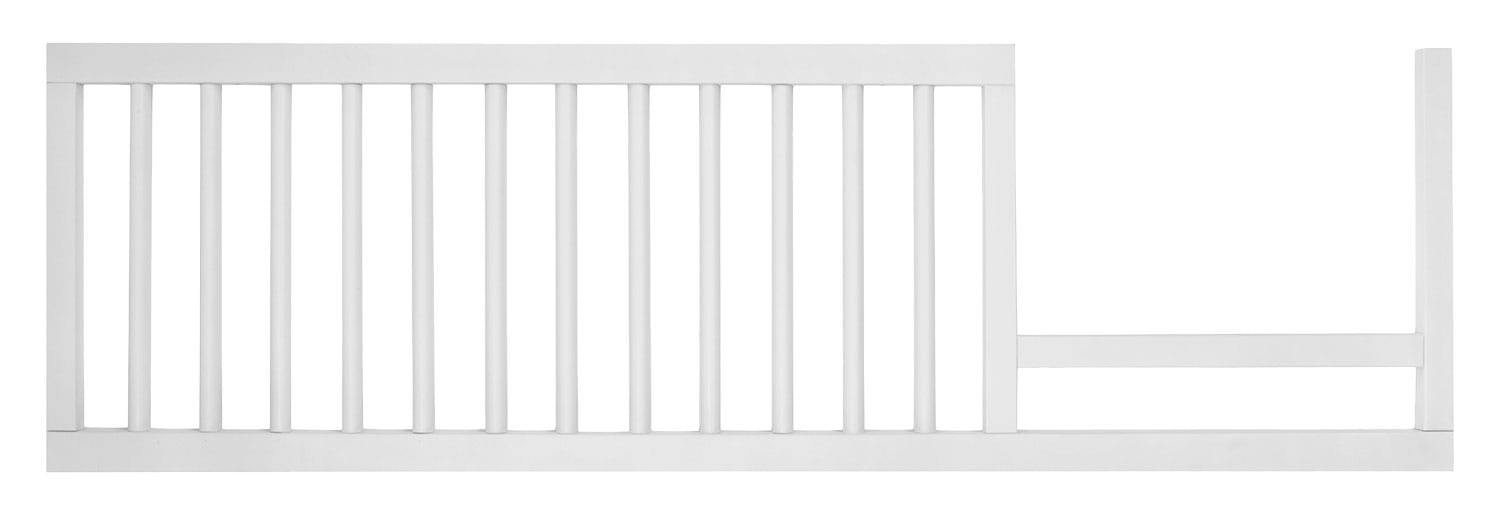 Kids Furniture - Finley Toddler Rail - White