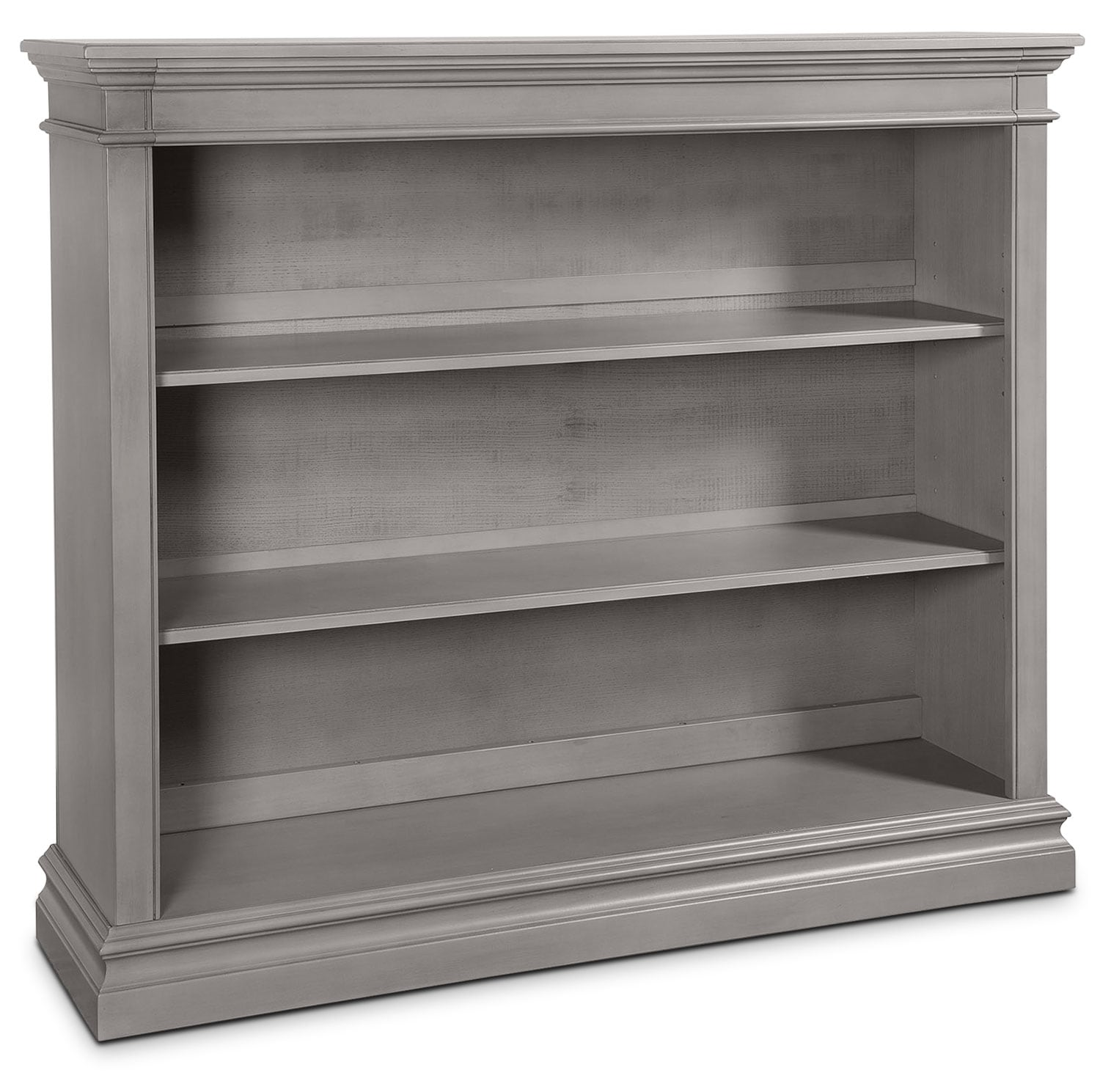 Cameron Hutch Bookcase - Cloud