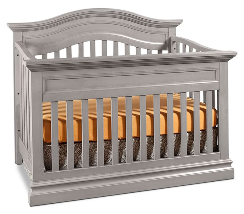 Kids Furniture - Cameron Contour Crib - Cloud
