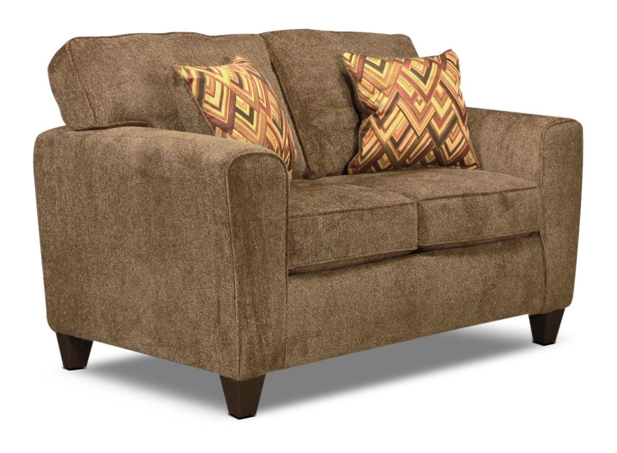 Living Room Furniture - Cooper Loveseat - Cocoa