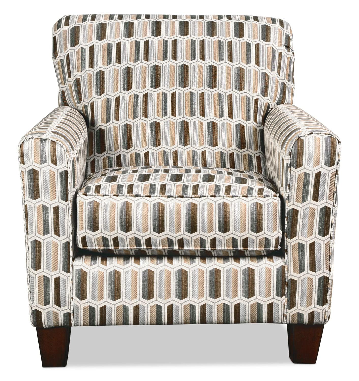 Ceylon Accent Chair - Geometric
