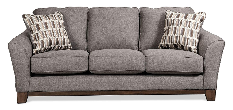 Living Room Furniture - Ceylon Sofa - Slate
