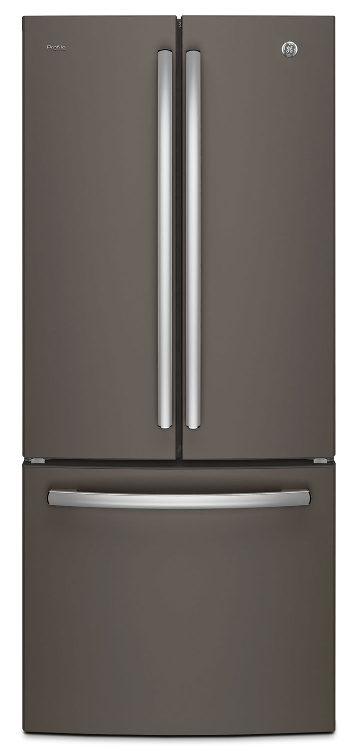 GE 20.8 Cu. Ft. French-Door Refrigerator with Internal Water Dispenser – PNE21KMKES