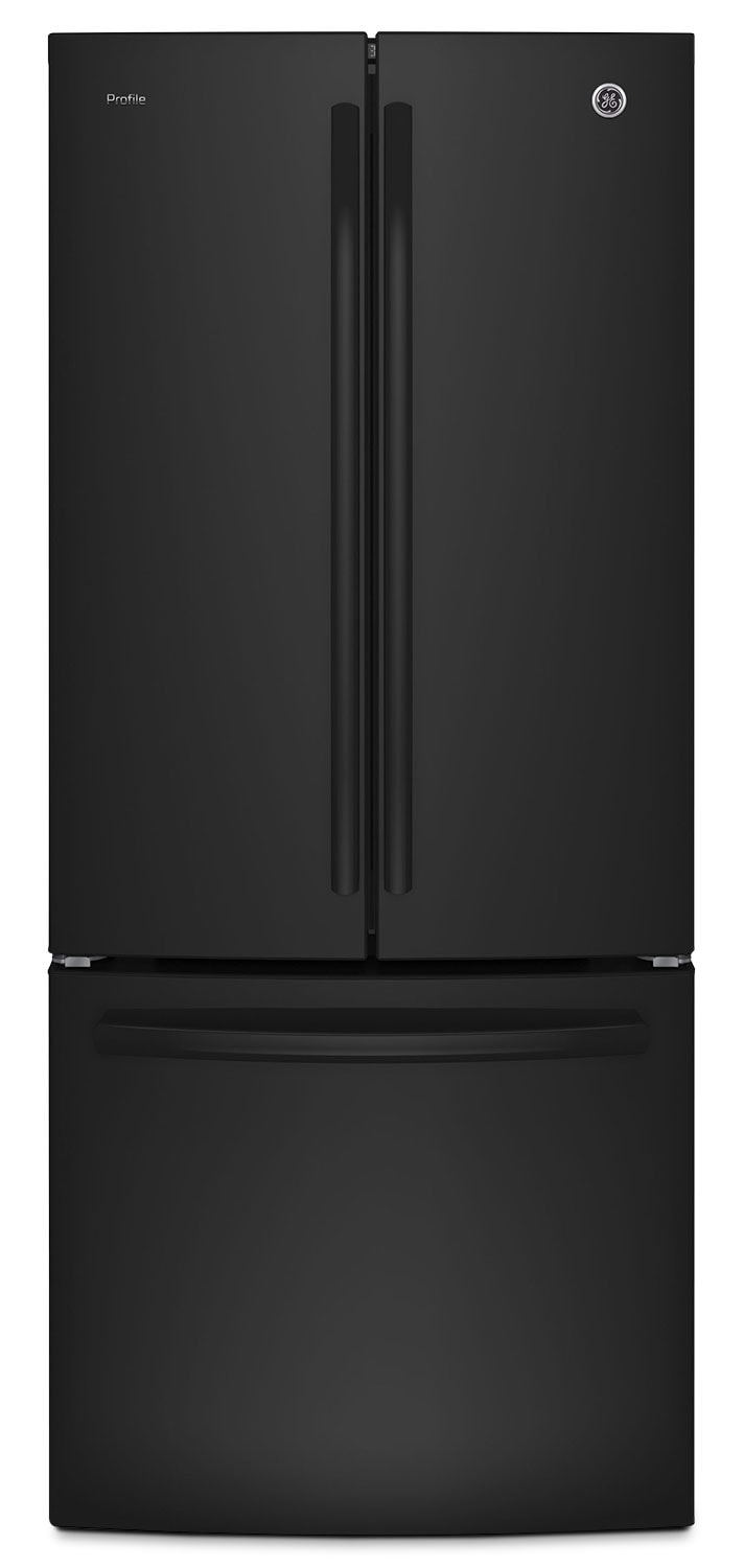 GE 20.8 Cu. Ft. French-Door Refrigerator with Internal Water Dispenser – PNE21KGKBB