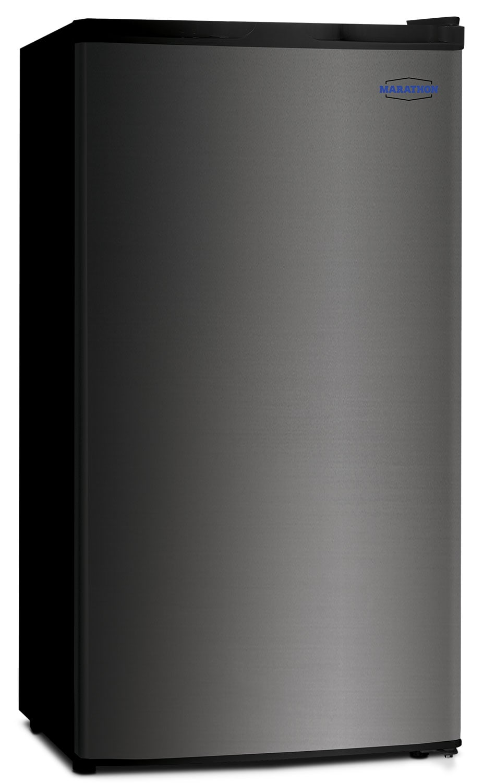 Stirling Marathon Black Steel Compact Refrigerator (3.2 Cu. Ft.) - 01C30741