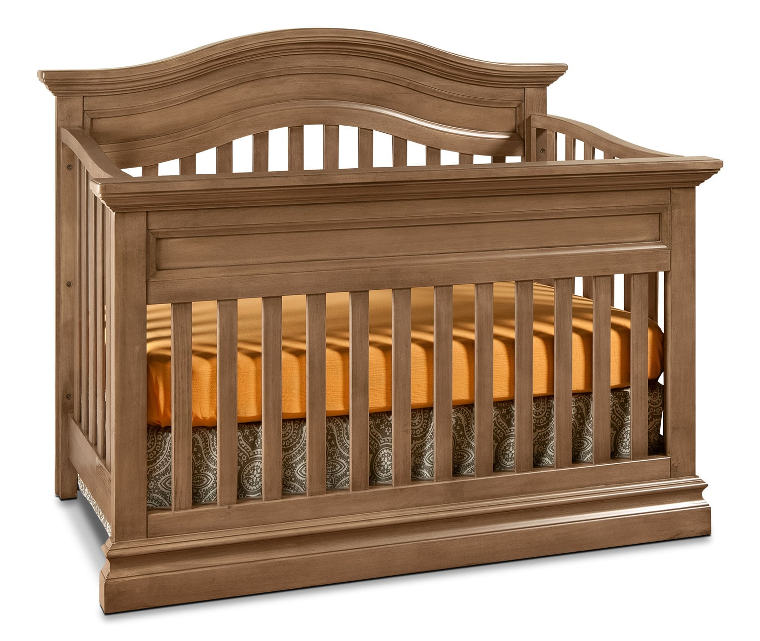 Kids Furniture - Cameron Contour Convertible Crib - Cashew