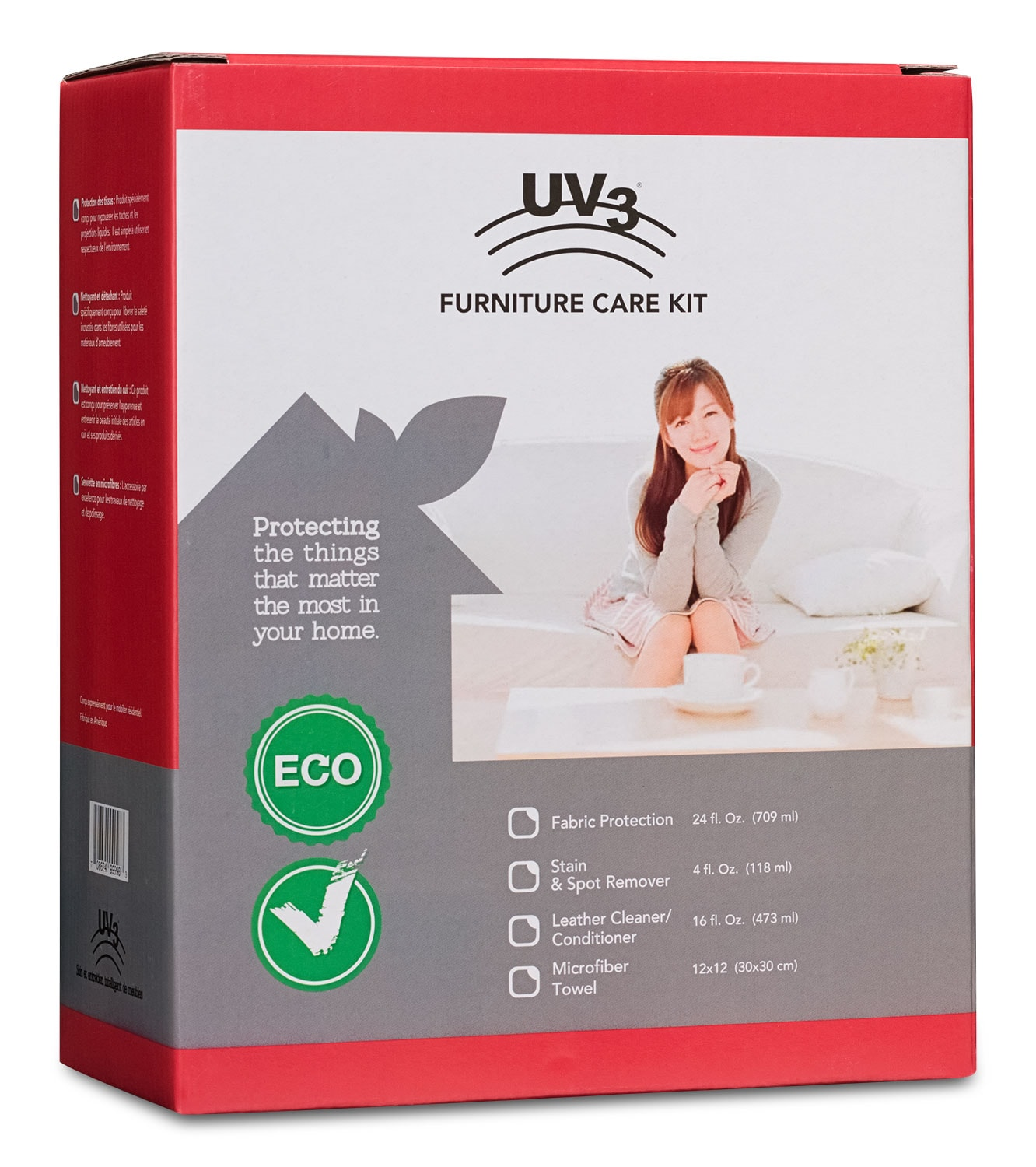 Living Room Furniture - UV3 All-In-One Upholstery Care Kit