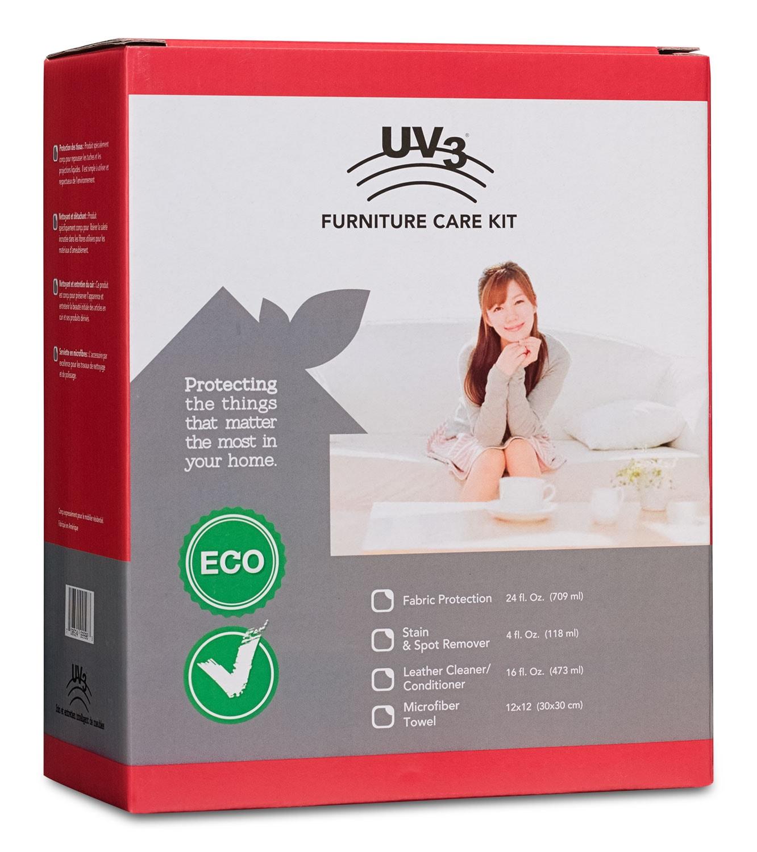 Trousse d'entretien tout-en-un UV3 pour meubles rembourrés