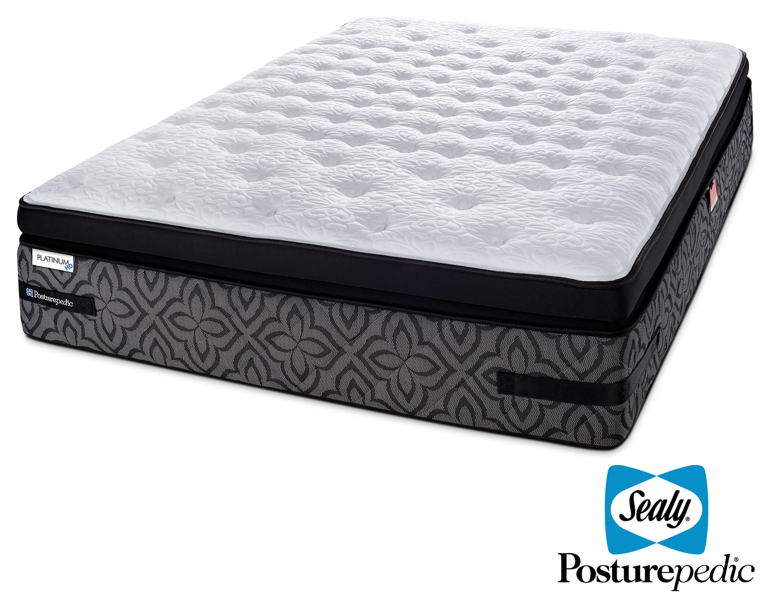 Mattresses and Bedding - Sealy Posturepedic 3 K Cushion Firm King Mattress